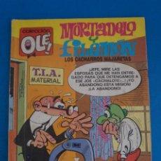 Tebeos: COMIC DE OLE MORTADELO Y FILEMON AÑO 1988 Nº 104 DE BRUGUERA LOTE 14 F. Lote 270883698