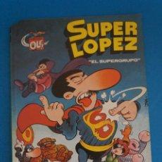Tebeos: COMIC DE OLE SUPER LOPEZ AÑO 1990 Nº 2 DE BRUGUERA LOTE 14 F. Lote 270884193
