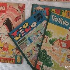 Tebeos: TIOVIVO EXTRA DE VERANO TIO VIVO Y OTROS BRUGUERA. Lote 270896413