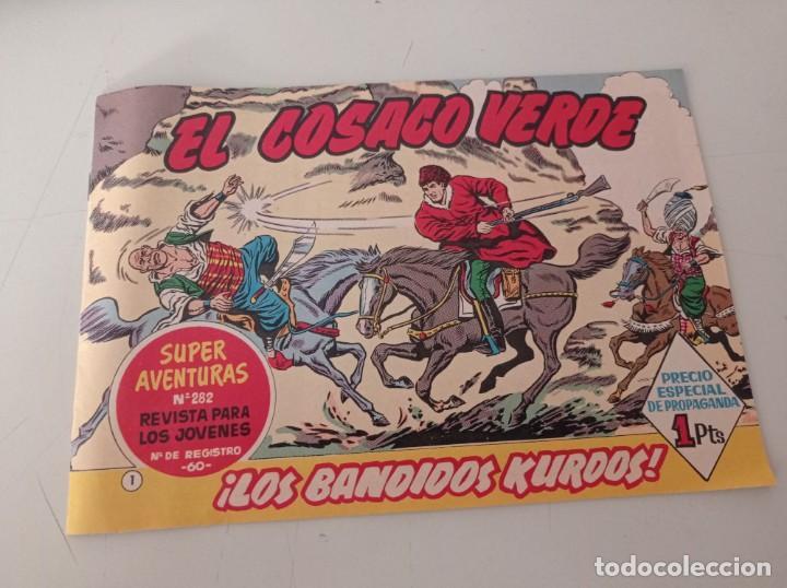 EL COSACO VERDE Nº 1 LOS BANDIDOS KURDOS EDITORIAL BRUGUERA 1960 FACSÍMIL REF. UR (Tebeos y Comics - Bruguera - Cosaco Verde)