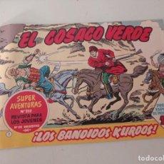Tebeos: EL COSACO VERDE Nº 1 LOS BANDIDOS KURDOS EDITORIAL BRUGUERA 1960 FACSÍMIL REF. UR. Lote 270905113