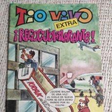 Tebeos: TIO VIVO - EXTRA REGOCIJO HILARANTE - Nº 68 - AVENTURA : SUEÑOS PREMONITORIOS - DIBUJOS : J. FLORES. Lote 270909393