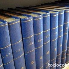 Tebeos: REVISTA DDT 1-181, 212-612 (21 VOL.) - BARCELONA 1951-1964 - MUY ILUSTRADO. Lote 271130193