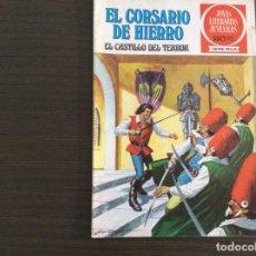 Tebeos: EL CORSARIO DE HIERRO SERIE ROJA NÚMERO 22. Lote 271152058