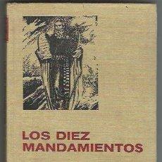 Tebeos: BRUGUERA. HISTORIA Y BIOGRAF�A. LOS DIEZ MANDAMIENTOS.. Lote 271350543