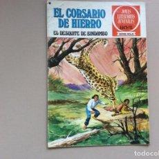 Tebeos: EL CORSARIO DE HIERRO SERIE ROJA NÚMERO 24. Lote 271383763