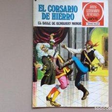 Tebeos: EL CORSARIO DE HIERRO SERIE ROJA NÚMERO 25. Lote 271385488