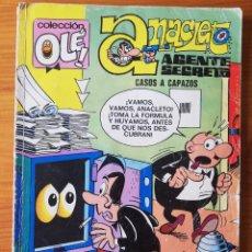 Tebeos: OLE - ANACLETO AGENTE SECRETO - CASOS A CAPAZOS - N. 74. Lote 271432543