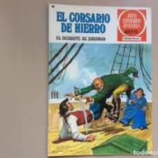 Tebeos: EL CORSARIO DE HIERRO SERIE ROJA NÚMERO 34. Lote 271561488