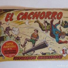 Tebeos: EL CACHORRO Nº 182 BRUGUERA ORIGINAL. Lote 271580663