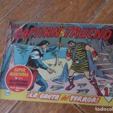 Tebeos: EL CAPITAN TRUENO Nº 220 EDITORIAL BRUGUERA ORIGINAL. Lote 271598043