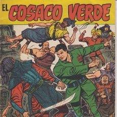 Tebeos: EL COSACO VERDE - ALMANAQUE PARA 1961 - BRUGUERA ORIGINAL DE 1961 #. Lote 271812203