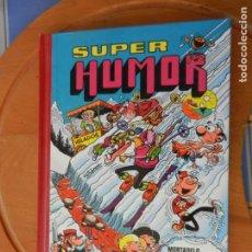 Tebeos: SUPER HUMOR Nº 31 - MORTADELO Y FILEMÓN,ZIPI Y ZAPE,CARPANTA,SACARINO,ROMPETECHOS -ED. B 1ª ED. 1989. Lote 271816623