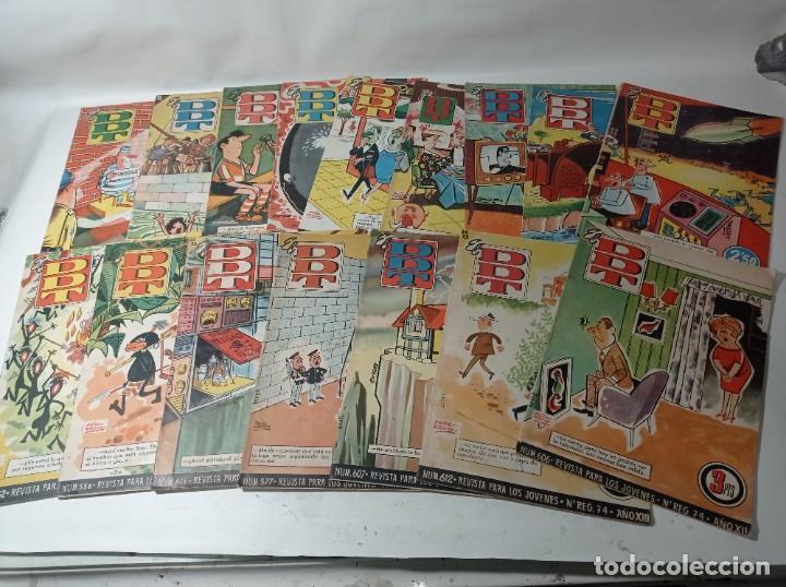 AÑOS 70 LOTE COLECCIÓN EL DDT 17 UNIDADES (Tebeos y Comics - Bruguera - DDT)