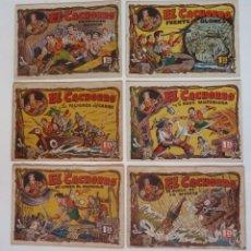 BDs: EL CACHORRO LOTE ORIGINAL DE 21 TEBEOS BRUGUERA AÑO 1951. Lote 272380308
