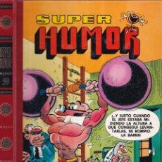 Tebeos: SUPER HUMOR 59 - MORTADELO Y FILEMÓN, ZIPI ZAPE - EDICIONES B 1990. Lote 272635448