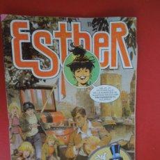 Tebeos: ESTHER 104 - BRUGUERA 1985 - EN EL INTERIOR POSTER DE DYANGO. Lote 272728363