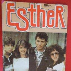 Tebeos: ESTHER Nº 116 - BRUGUERA 1985- POSTER LORENZO LAMAS. Lote 272729433