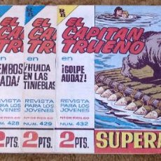 Tebeos: CAPITAN TRUENO Nº 316, 374, 409, 412, 428, 429 Y 432 (BRUGUERA 1962/65) 7 TEBEOS.. Lote 243277205