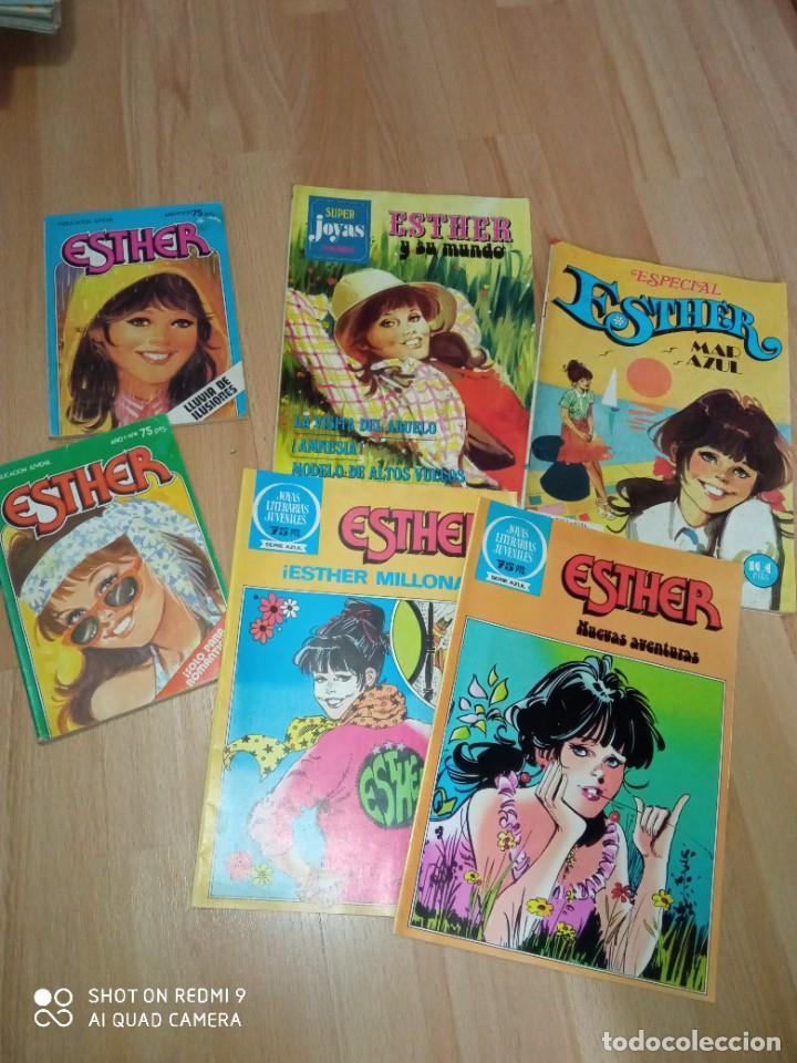 LOTE CÓMICS 'ESTHER' EDITORIAL BRUGUERA (Tebeos y Comics - Bruguera - Esther)