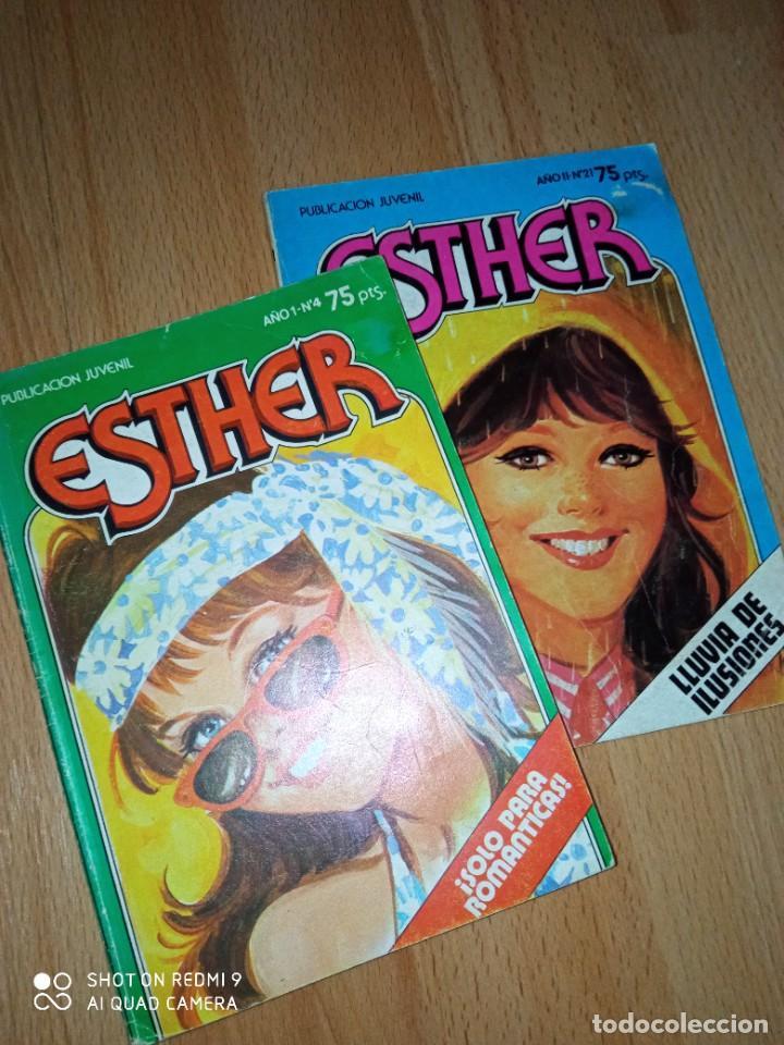Tebeos: Lote cómics Esther editorial Bruguera - Foto 3 - 273424613