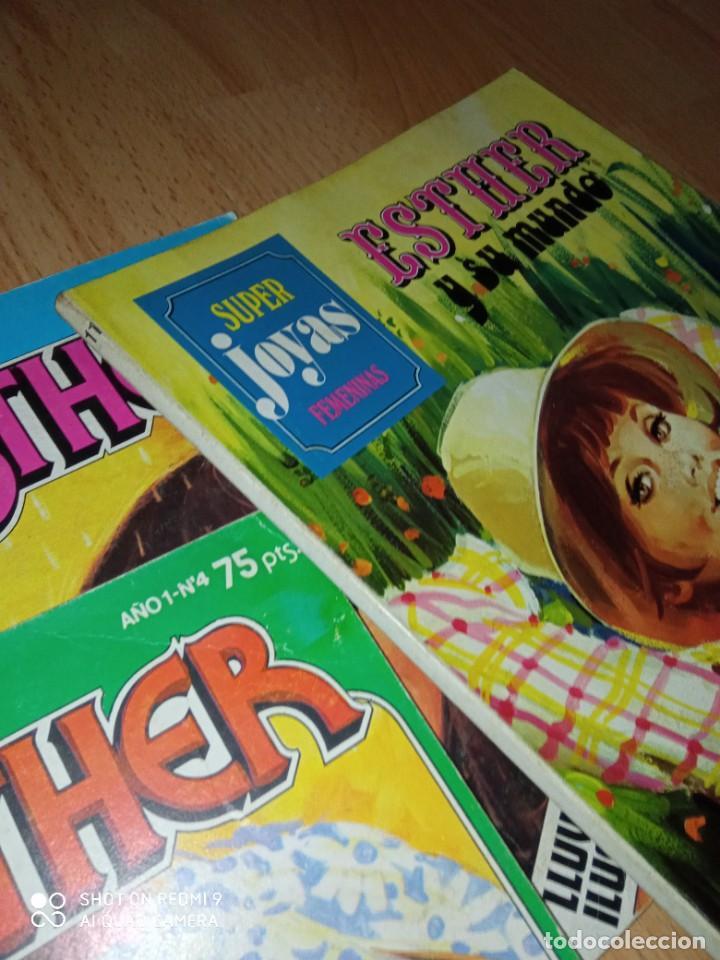 Tebeos: Lote cómics Esther editorial Bruguera - Foto 4 - 273424613