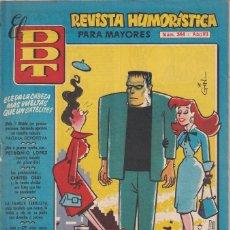 BDs: EL D.D.T.:NUMERO 344 , EDITORIAL BRUGUERA. Lote 273628008