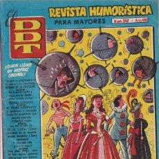 BDs: EL D.D.T.:NUMERO 352 , EDITORIAL BRUGUERA. Lote 273629473