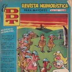 BDs: EL D.D.T.:NUMERO 353 , EDITORIAL BRUGUERA. Lote 273630653