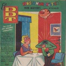 BDs: EL D.D.T.:NUMERO 326 , EDITORIAL BRUGUERA. Lote 273631438