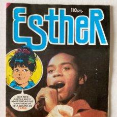 Tebeos: ESTHER #117 «INFRECUENTE» BRUGUERA 1984 EN BUEN ESTADO CON POSTER. Lote 273915158