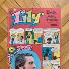 BDs: LILY Nº 660 - CONTIENE POSTER DE MIGUEL GALLARDO. Lote 274182143