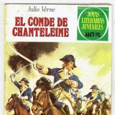 Tebeos: JOYAS LITERARIAS JUVENILES Nº 208 - EL CONDE DE CHANTELEINE - BRUGUERA 1979 - 1ª EDICIÓN. Lote 274190643