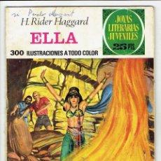 Tebeos: JOYAS LITERARIAS JUVENILES Nº 151 - ELLA - BRUGUERA 1976 - 1ª EDICIÓN. Lote 274198783