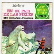 Tebeos: JOYAS LITERARIAS JUVENILES Nº 147 - EN EL PAIS DE LAS PIELES - BRUGUERA 1975 - 1ª EDICIÓN. Lote 274199273