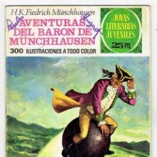 Tebeos: JOYAS LITERARIAS JUVENILES Nº 146 - AVENTURAS DEL BARON DE MÜNCHHAUSEN - BRUGUERA 1975 - 1ª EDICIÓN. Lote 274200443