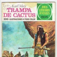 Tebeos: JOYAS LITERARIAS JUVENILES Nº 122 - TRAMPA DE CACTUS - BRUGUERA 1975 - 1ª EDICIÓN. Lote 274202888