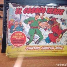 Tebeos: EL COSACO VERDE SUPER AVENTURAS Nº 20 AÑO 1960 ORIGINAL PRECIO RECORTADO VER FOTO. Lote 274237963
