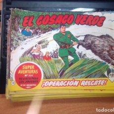 Tebeos: EL COSACO VERDE SUPER AVENTURAS Nº 19 AÑO 1960 ORIGINAL PRECIO RECORTADO VER FOTO. Lote 274238033