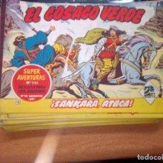 Tebeos: EL COSACO VERDE SUPER AVENTURAS Nº 18 AÑO 1960 ORIGINAL PRECIO RECORTADO VER FOTO. Lote 274238208