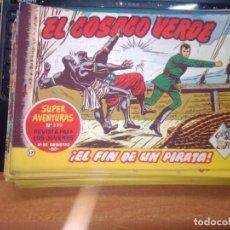 Tebeos: EL COSACO VERDE SUPER AVENTURAS Nº 17 AÑO 1960 ORIGINAL PRECIO RECORTADO VER FOTO. Lote 274238298