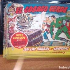 Tebeos: EL COSACO VERDE SUPER AVENTURAS Nº 16 AÑO 1960 ORIGINAL PRECIO RECORTADO VER FOTO. Lote 274238388