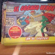 Tebeos: EL COSACO VERDE SUPER AVENTURAS Nº 37 AÑO 1960 ORIGINAL PRECIO RECORTADO VER FOTO. Lote 274238988