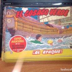 Tebeos: EL COSACO VERDE SUPER AVENTURAS Nº 34 AÑO 1960 ORIGINAL PRECIO RECORTADO VER FOTO. Lote 274239173