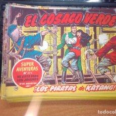 Tebeos: EL COSACO VERDE SUPER AVENTURAS Nº 32 AÑO 1960 ORIGINAL PRECIO RECORTADO VER FOTO. Lote 274239673
