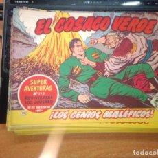 Tebeos: EL COSACO VERDE SUPER AVENTURAS Nº 31 AÑO 1960 ORIGINAL PRECIO RECORTADO VER FOTO. Lote 274239773