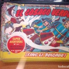 Tebeos: EL COSACO VERDE SUPER AVENTURAS Nº 30 AÑO 1960 ORIGINAL PRECIO RECORTADO VER FOTO. Lote 274239858