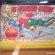 Tebeos: EL COSACO VERDE SUPER AVENTURAS Nº 29 AÑO 1960 ORIGINAL PRECIO RECORTADO VER FOTO. Lote 274239903