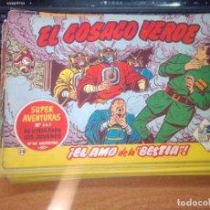 Tebeos: EL COSACO VERDE SUPER AVENTURAS Nº 28 AÑO 1960 ORIGINAL PRECIO RECORTADO VER FOTO. Lote 274240003