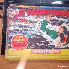 Tebeos: EL COSACO VERDE SUPER AVENTURAS Nº 27 AÑO 1960 ORIGINAL PRECIO RECORTADO VER FOTO. Lote 274240123